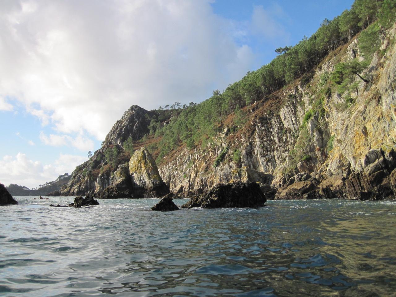 Presqu'île de Crozon-grottes de Morgat