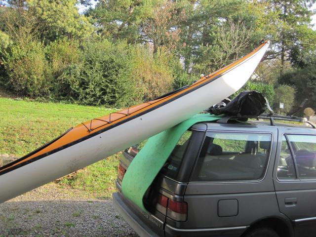 Hisser le kayak sur la galerie 1