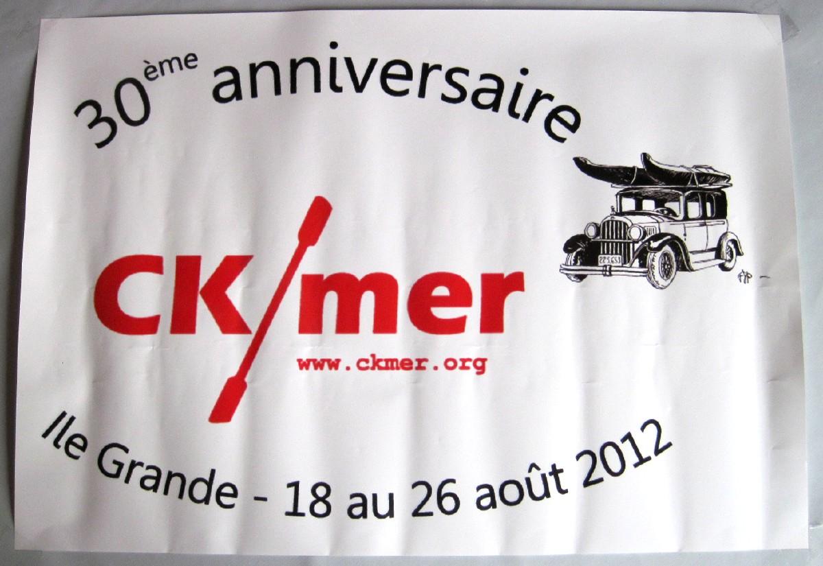 Affiche 30 ans CK/mer
