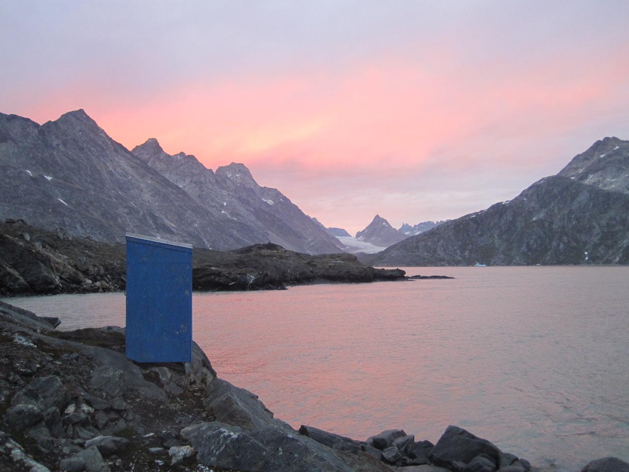 Soir dans un fjord