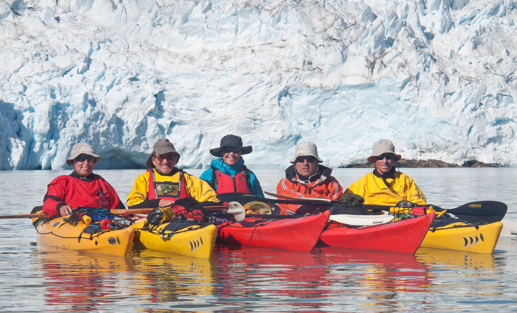 Groenland - l'équipe des 6