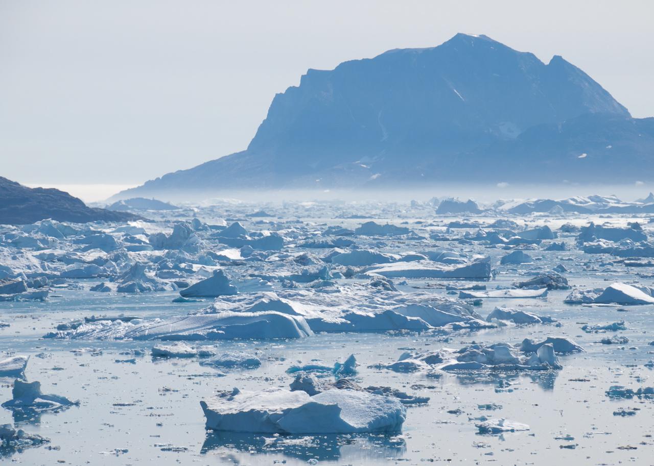 Sermilik, l'ice fjord