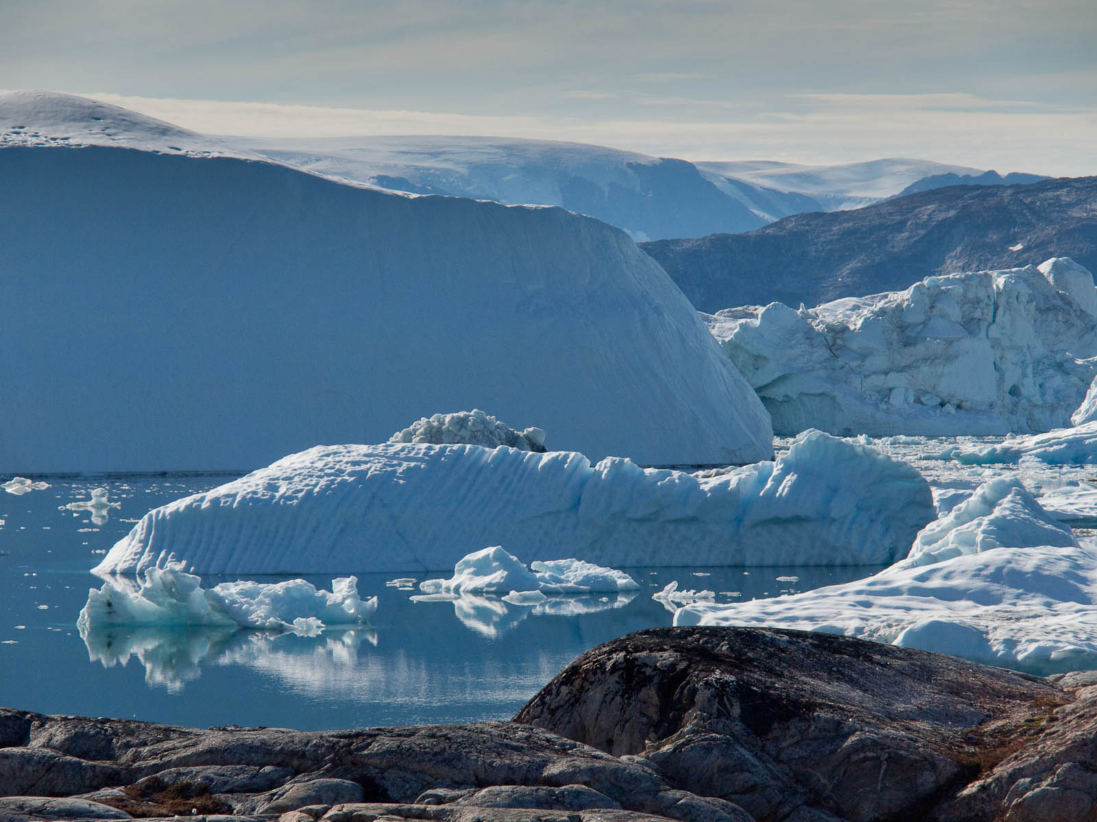 Groenland - la calotte glaciaire