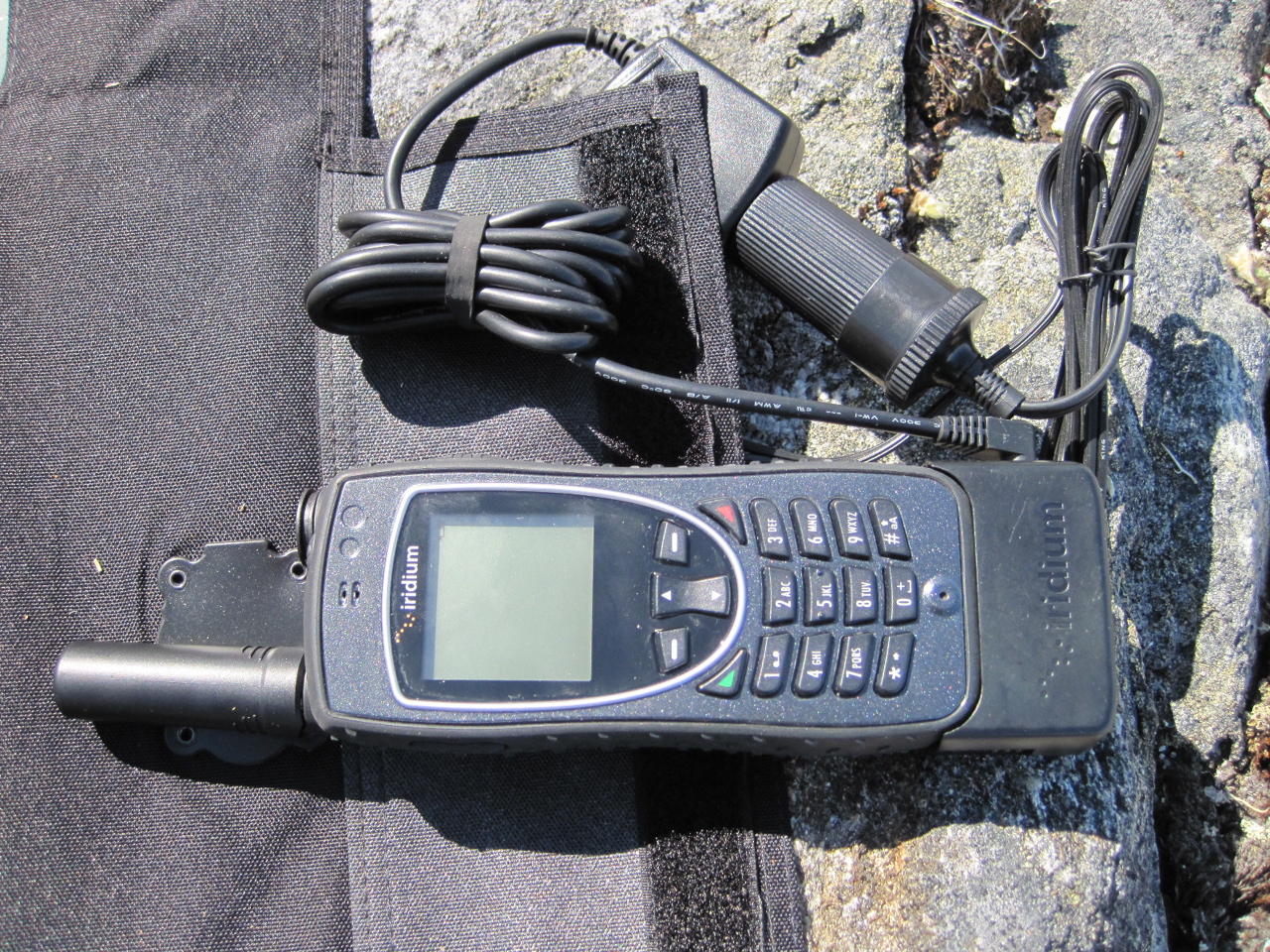 Groenland - Téléphone satellitaire