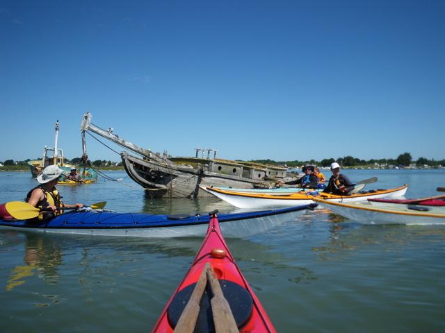 Cimetière bateaux - Boëd