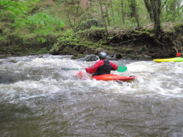 kayak sur Le Lié
