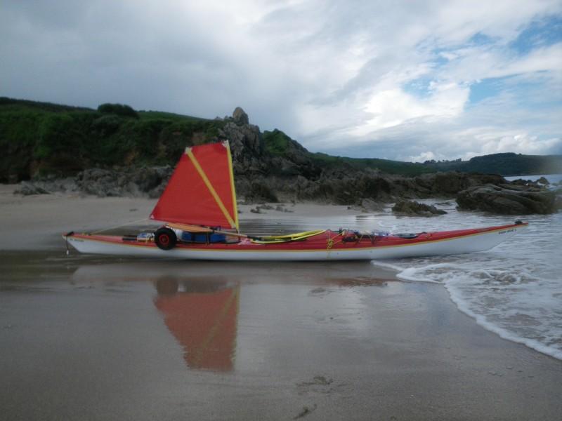 kayak à voile - Alain