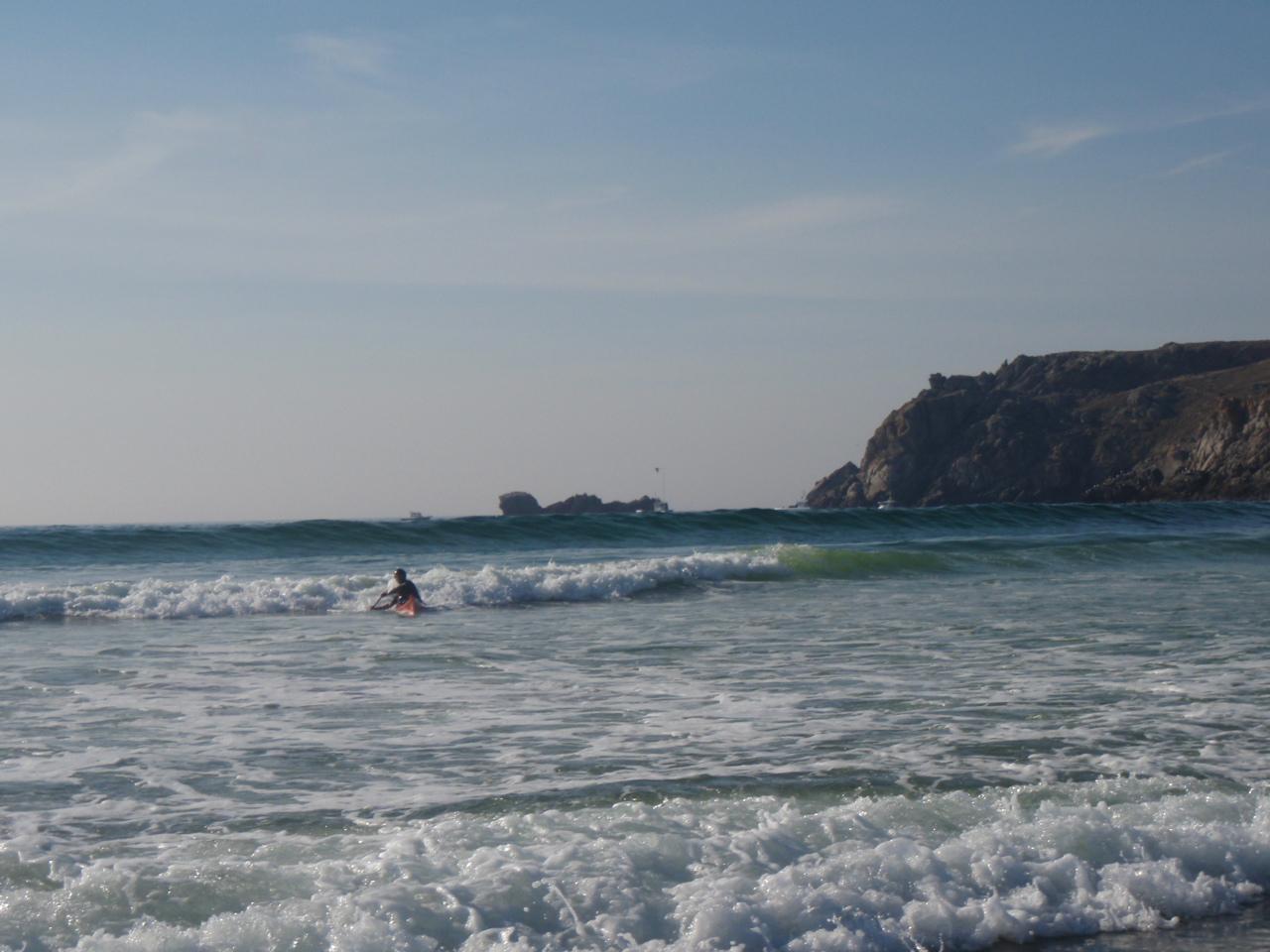 Surf baie des Trépassés