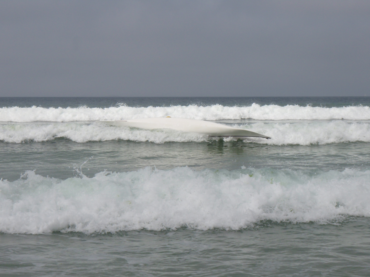A l'envers dans la baie des Trépassés